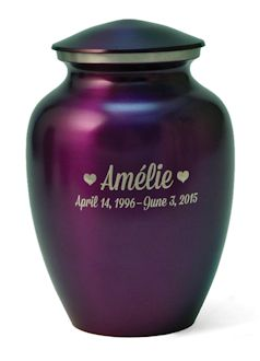Classic Pet Series Urn - Violet Small