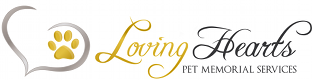 Loving Hearts Pet Memorial Services Logo